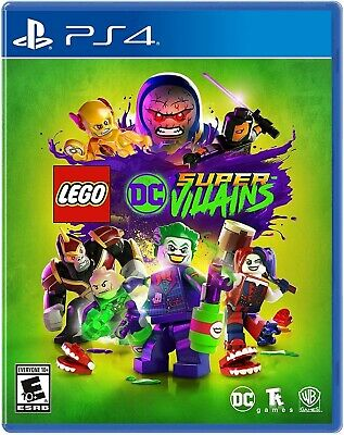 AU27.77 • Buy Playstation 4 Ps4 Video Game Lego Dc Super Villains Brand New And Sealed