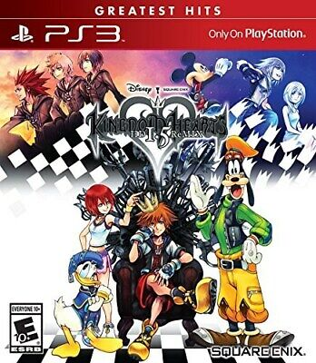 $12.99 • Buy Playstation 3 Ps3 Game Kingdom Hearts Hd 1.5 Remix Brand New & Factory Sealed