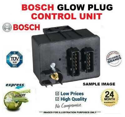 BOSCH GLOW PLUG TIMER RELAY For PEUGEOT EXPERT Platform/Chassis 1.9D 1998-2003 • 63.95£