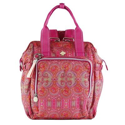 £89.31 • Buy Oilily Ladies Groovy Diaperbackpack Mvz Red Backpack, Bag Red Colourful Floral