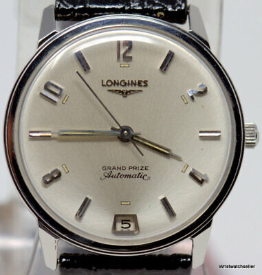 $ CDN493.59 • Buy Vintage Longines Grand Prize 2644-343/353 Seconds At 6 SS 341/343 Automatic