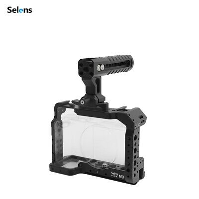 $ CDN76.99 • Buy Selens A7III Camera Cage Rig Video Protective Case Grip For Sony & Top Handle