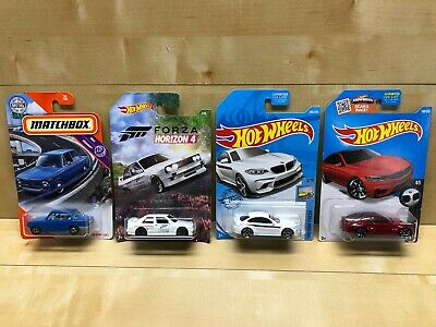 $15.99 • Buy Hot Wheels Lot BMW 2016 M2 1992 M3 M4 1969 Matchbox 2002 Forza Horizon 4
