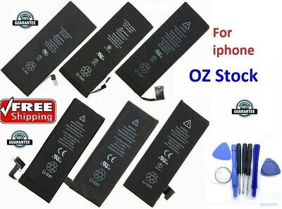 AU12.99 • Buy Replacement Battery For Iphone 4 4S 5 5S 6 6S 6S+ With 0 Cycle Li-ion