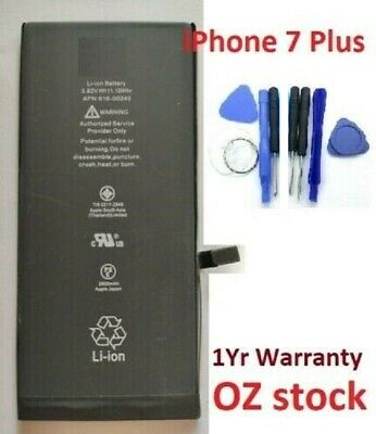 AU19.95 • Buy Replacement Battery For IPhone 7 Plus 2900mAh With Open Tool Kit