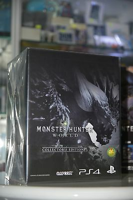 AU249 • Buy NEW PS4 Monster Hunter World MHW (HK Chinese 中文/ ENG Collector's Limited Boxset)