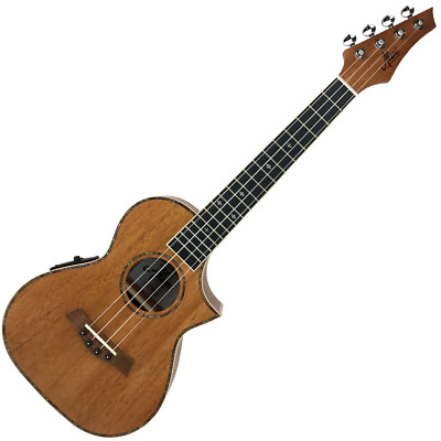 AU369 • Buy Akoni Extreme Tenor Acoustic Electric Ukulele W/ Tuner & Bag Solid Mahogany Top