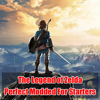 $9.99 • Buy Switch NS Legend Of Zelda: Breath Of The Wild - Perfect Modded For Starters