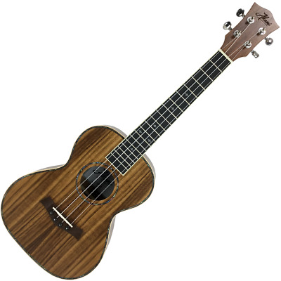 AU259 • Buy Akoni Exotic Series Koa Tenor Ukulele With Bag - Maple Binding - Abalone Inlay