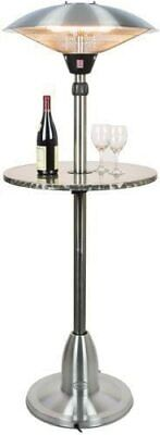 Andrew James Outdoor Patio Heater With 2100w Electric Halogen E & Floating Table • 129.99£