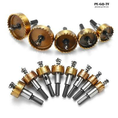 12-80 Mm Titanium Drill Bit Saw Stainless Steel Copper Metal Alloy Hole Cutter • 7.94£