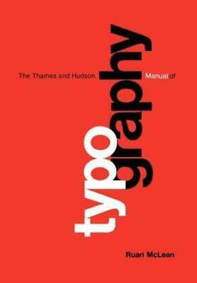 £3.53 • Buy The Thames And Hudson Manuals: The Thames And Hudson Manual Of Typography By