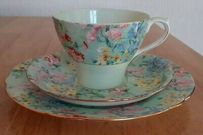 Shelley Melody Pattern ( Teacup,saucer,side Plate ) * Excellent Condition * • 6.99£