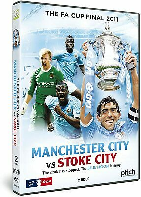 The FA Cup Final 2011 Manchester City V Stoke City DVD 2 Disc * FREE UK  P & P * • 12.99£