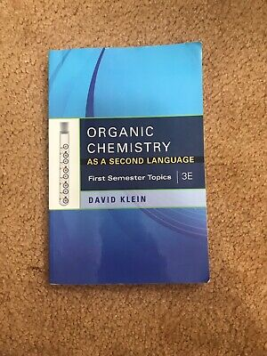 $25 • Buy First Semester Topics: Organic Chemistry As A Second Language : First...