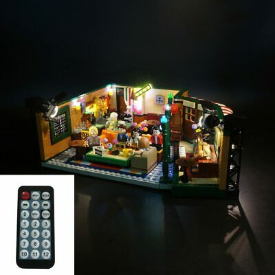 $42.68 • Buy LED Light Kit For LEGO 21319 Central Perk The Television Series Friends Coffee