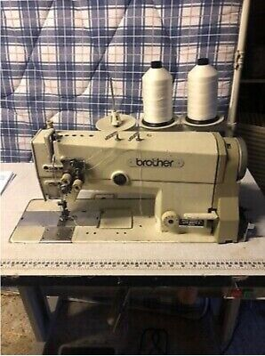 Twin Needle Industrial Brother Sewing Machine • 495£