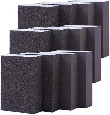 12 X Sanding Sponge Wet And Dry Sanding Block Coarse/Medium/Fine/Superfine  • 11.99£