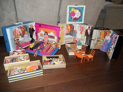 $ CDN852.59 • Buy Vintage Barbie Huge Case Lot Doll Clothes + Accessories