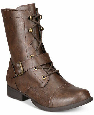 $15.71 • Buy American Rag Womens Farahh Round Toe Ankle Combat Boots