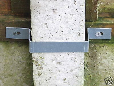 Security Fence Band Fencing Panel Concrete Post Safety • 1.99£