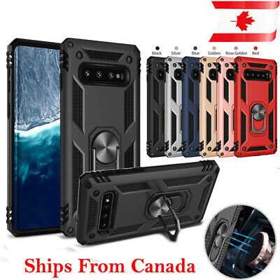 $ CDN8.49 • Buy For Samsung Galaxy S9 S10e S10 S10+ Plus Case Heavy Duty 360 Magnetic Ring Cover