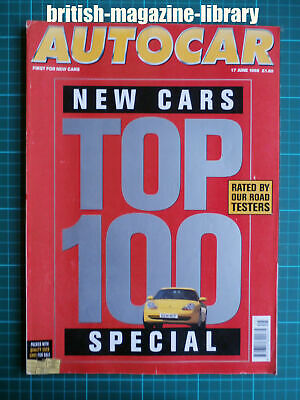 $ CDN30.96 • Buy Autocar 17/6/1998 Road Test Mercedes-Benz CLK Cabriolet Long Term Lotus Elise S1