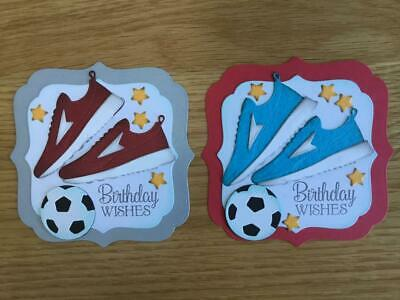 Luxury Birthday Trainers & Football Card Toppers (S7) • 2.65£