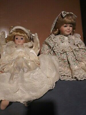 $ CDN21.78 • Buy Vintage Porcelain Doll Collection Lot 2