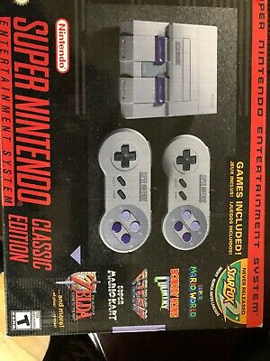 $ CDN157.24 • Buy SNES Classic Mini Authentic BRAND NEW! Super Nintendo Entertainment System