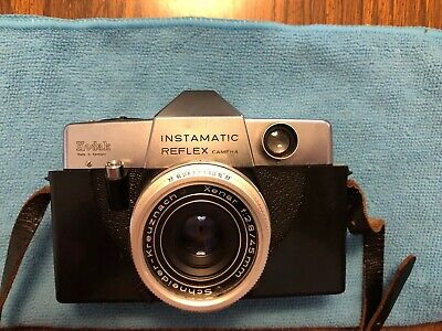 $ CDN28.15 • Buy Vintage Kodak Instamatic Reflex Camera W Lens Xenar F:2.8/45mm  Germany