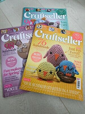 3 X Winter Craft Seller Magazines Never Used  • 1.99£