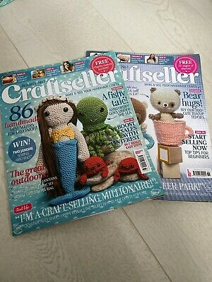 2 X Summer Craft Seller Magazines Never Used • 1.99£