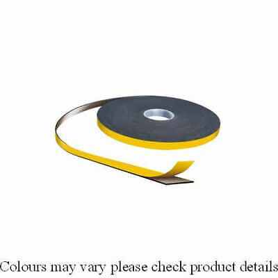 Double Sided Tape Security For Glazing PVC Foam Tape W 9mm T 3.0mm L 25 M Black • 36.52£
