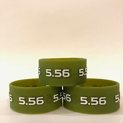 $7.99 • Buy Ammo Bands, 5.56. Magazine ID Band. Sold In Pack Of 3.