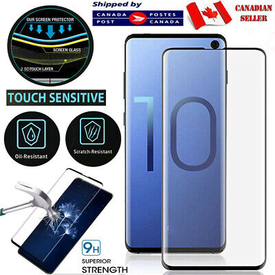 $ CDN4.25 • Buy For Samsung Galaxy S8 S9 S10 S20 Plus S20f S10e Tempered Glass Screen Protector