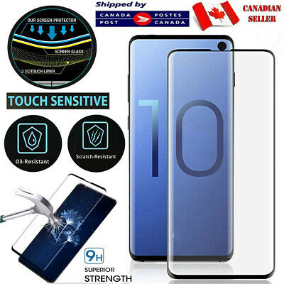 $ CDN9.99 • Buy For Samsung Galaxy S8 S9 S10 S20 Plus Ultra S10e Tempered Glass Screen Protector