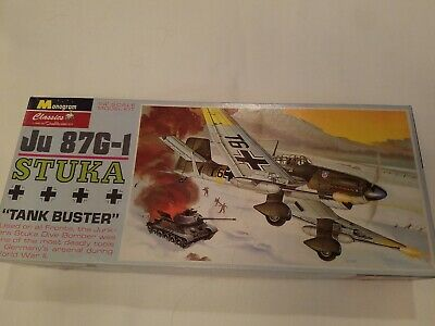 $17.11 • Buy JU 87G-1 Stuka  Tank Buster  Model Kit -  Monogram Classics -1999 NOS Brand New