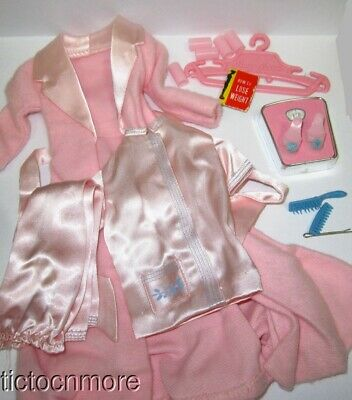 $ CDN99 • Buy Vintage Barbie Doll Fashion Clothes #1642 Slumber Party Almost Complete Set