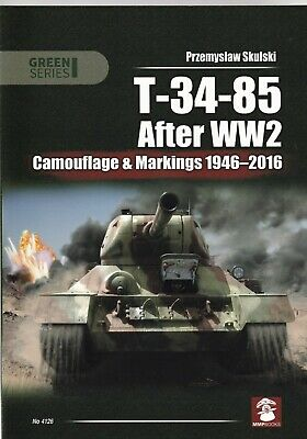 £13.99 • Buy T-34-85 After WW2: Camouflage & Markings 1946-2016 Tanks Modelling