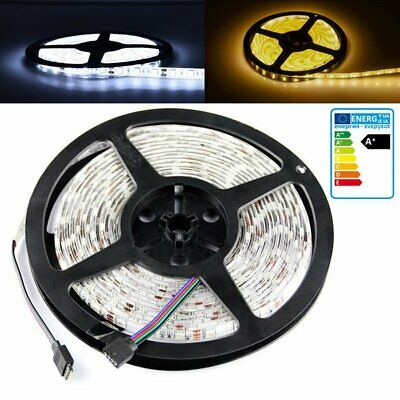 $6.89 • Buy 5M 300 LED Flexible Strip Light SMD 3528 5050 RGB Fairy Lights Room TV Party Bar