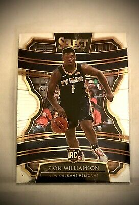 $24.50 • Buy 2019-20 Panini Select Zion Williamson Concourse Card #1 Rookie Card