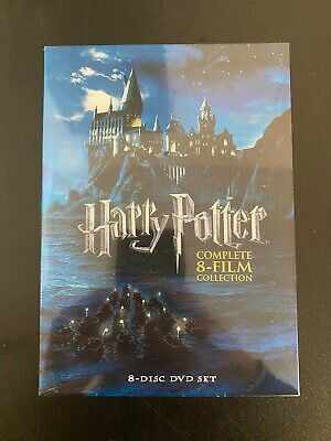 $18.99 • Buy Harry Potter: Complete 8-Film Collection (DVD, 2011, 8-Disc Set)*Sealed*