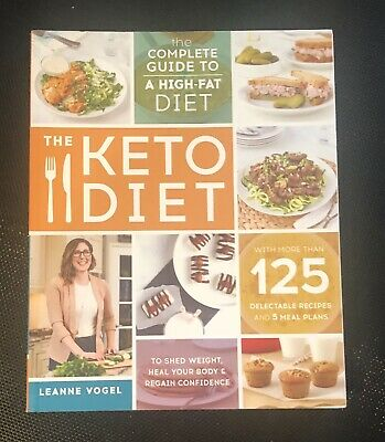 $9.95 • Buy The Keto Diet High Fat Paperback By Leanne Vogel Healthful Pursuit