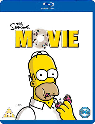 The Simpsons Movie Blu-ray (2007) David Silverman Cert PG FREE Shipping, Save £s • 2.72£