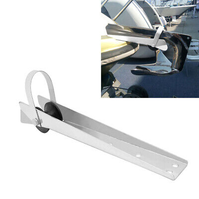 390mm New Self-Launching Bow Anchor Roller For Boat Yacht - Stainless Steel • 27.49£