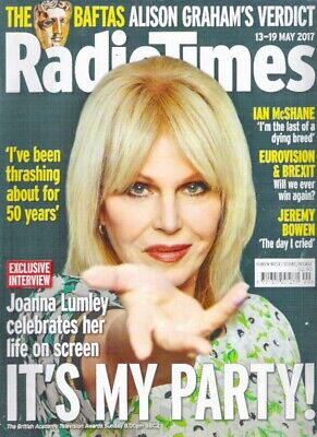£4.95 • Buy RADIO TIMES IT'S MY PARTY Lumley Eurovision McShane May 2017 Magazine Collectors