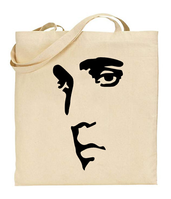 £6.49 • Buy Shopper Tote Bag Cotton Canvas Cool Icon Stars Elvis Presley Ideal Gift Present