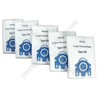 Miele S4211 Vacuum Bags Type Gn X 5 + 2 Filters • 6.99£