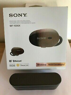 SONY WF-1000X Wireless Noice Cancelling Stereo Headset • 90£